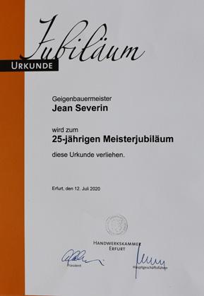 25Jahre Meisterbrief