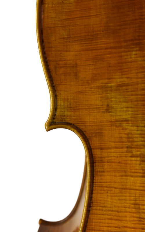 7/8 Manufakturcello Detail