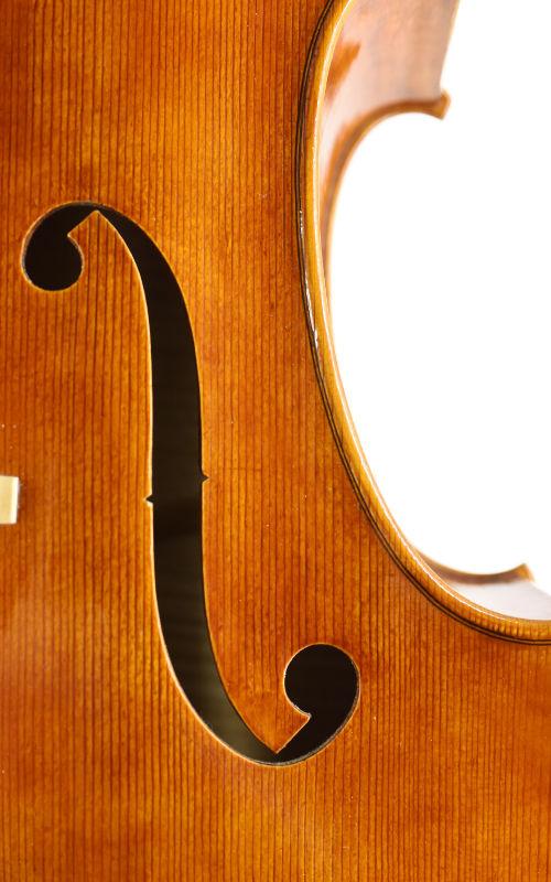 7/8 Meistercello Jean Severin Detail