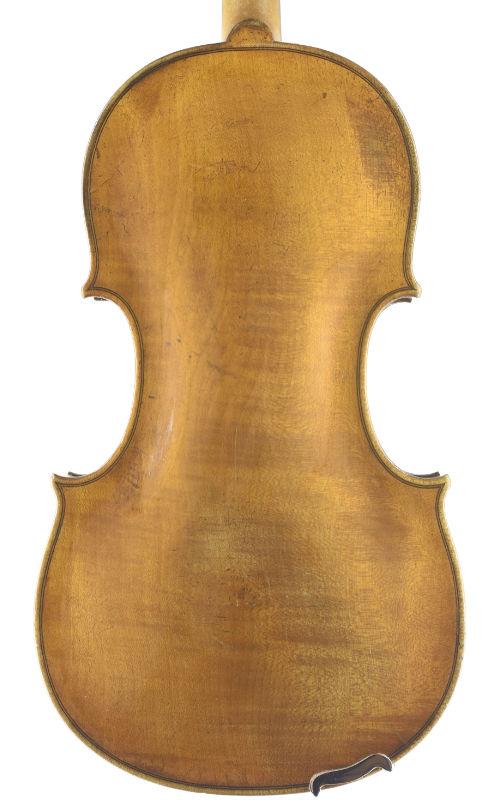 Sächsische Viola 37,6 ca 1820 Back