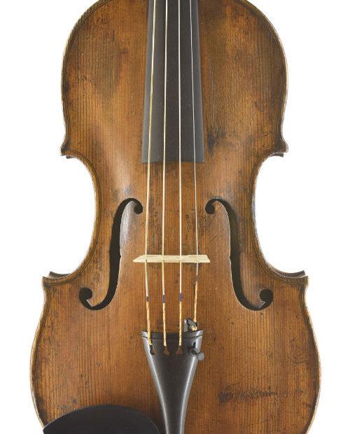saechsische Viola 37,6 ca 1820 Front